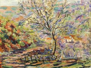House in the Countryside; Maison Dans Un Paysage, c.1910 by Armand Guillaumin