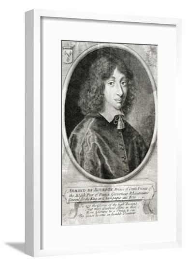 Armand Prince de Conti--Framed Giclee Print