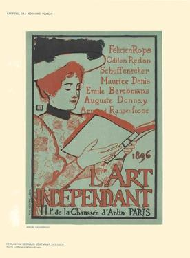 L'Art Independant by Armand Rassenfosse