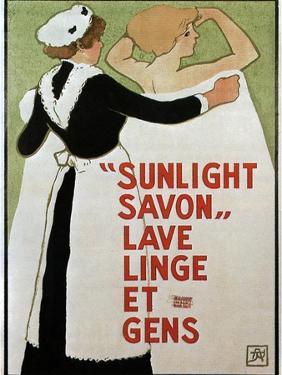 Sunlight Savon, 1910 by Armand Rassenfosse