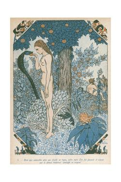Eve Accepts the Apple by Armand Vallee