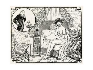 Woman Having an Affair 1918 by Armand Vallee