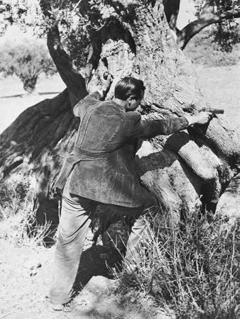 Salvatore Giuliano Pointing a Pistol, 1937
