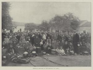 Armenian Refugees at the Hospital at Varna