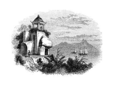 Camoens Grotto, Macao, 1847