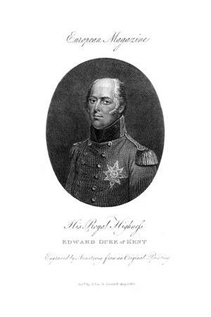 His Royal Highness Edward, Duke of Kent, 1801