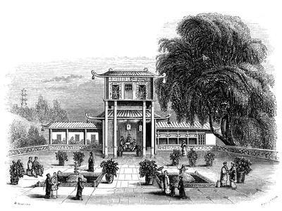 House at Ningbo, China, 1847