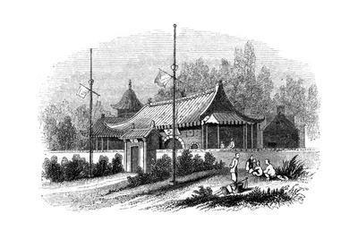 Mandarin's House, China, 1847