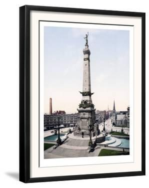Army and Navy Monument Indianapolis Indiana
