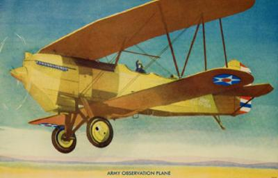 Army Observation Plane