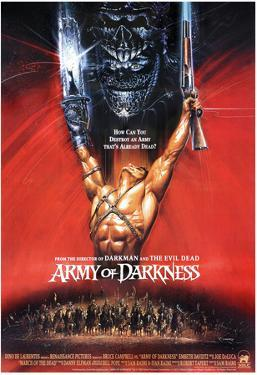 Army of Darkness Movie Bruce Campbell Poster Print