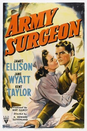 Army Surgeon, from Left: Jane Wyatt, James Ellison, 1942