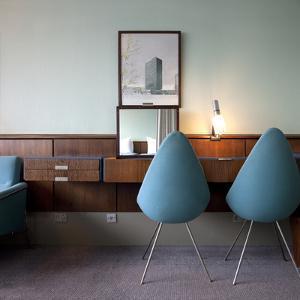 Arne Jacobsen Suite 606 in Sas Radisson Blue Royal Hotel, Copenhagen, Denmark