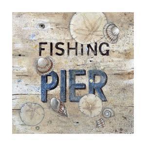 Fishing Pier by Arnie Fisk