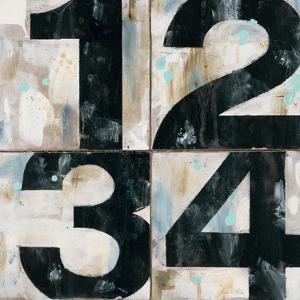Industrial Chic Numbers by Arnie Fisk