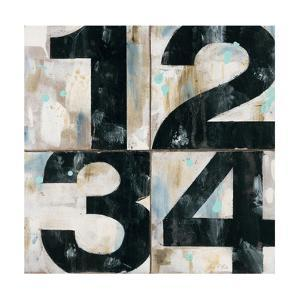 Industrial Chic Numbers by Arnie Fisk