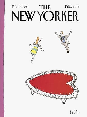 The New Yorker Cover - February 12, 1990