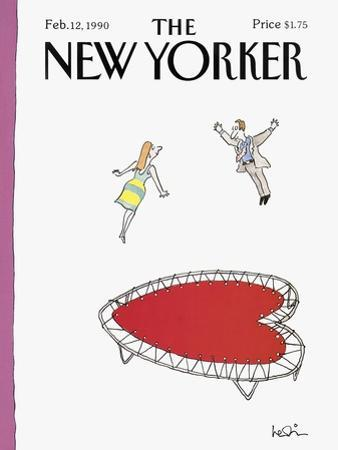 The New Yorker Cover - February 12, 1990 by Arnie Levin