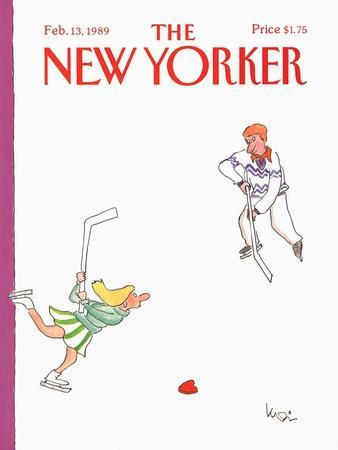 The New Yorker Cover - February 13, 1989