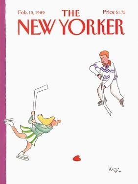 The New Yorker Cover - February 13, 1989 by Arnie Levin