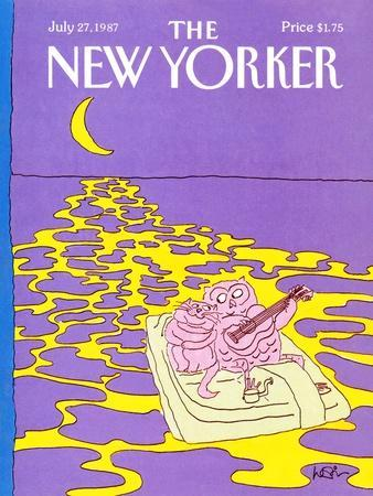 The New Yorker Cover - July 27, 1987