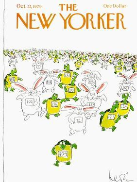 The New Yorker Cover - October 22, 1979 by Arnie Levin