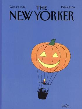 The New Yorker Cover - October 29, 1984 by Arnie Levin