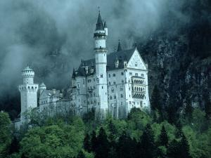 Castle, Neuschwanstein, Germany by Arnie Rosner