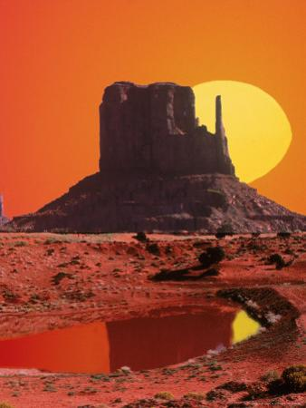 Monument Valley at Sunrise, Arizona by Arnie Rosner