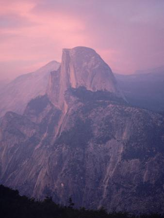 Mountains at Dusk, Yosemite National Park, California by Arnie Rosner