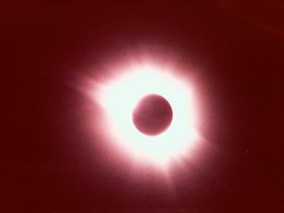 Solar Eclipse by Arnie Rosner