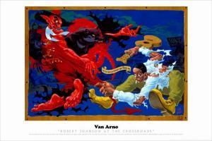 Robert Johnson at the Crossroads by Arno Van