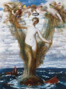 Venus Anadyomene, 1872 by Arnold Bocklin