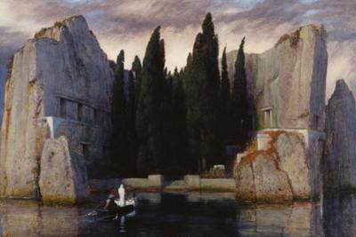 Isle of the Dead, 1883 by Arnold Böcklin