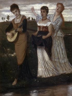 Spring, 1876 by Arnold Böcklin
