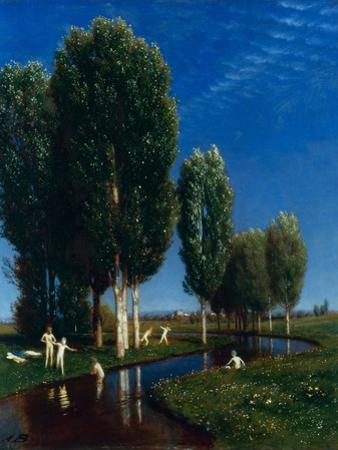 Summer Day, 1881 by Arnold Böcklin
