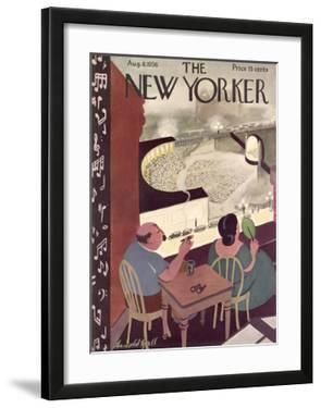 The New Yorker Cover - August 8, 1936 by Arnold Hall