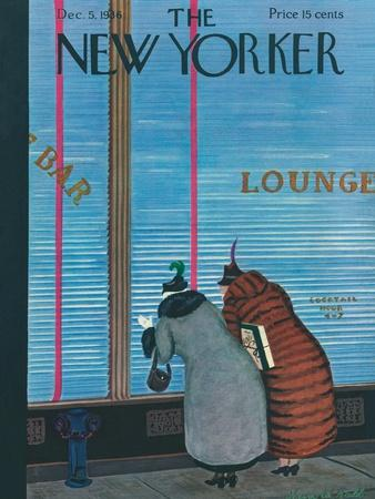 The New Yorker Cover - December 5, 1936