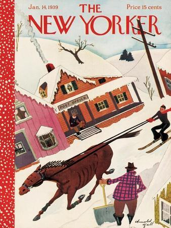 The New Yorker Cover - January 14, 1939