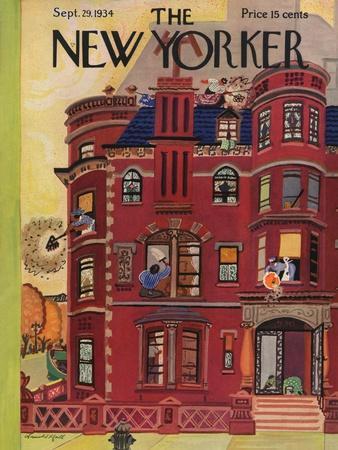 The New Yorker Cover - September 29, 1934