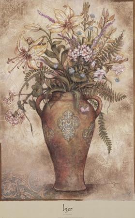 Fresco Floral I by Arnold Iger