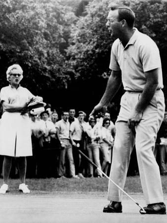 Arnold Palmer, Reacting to a Missed Put at the Westchester Country Club in 1964