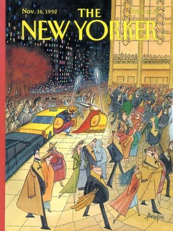 The New Yorker Cover - November 16, 1992