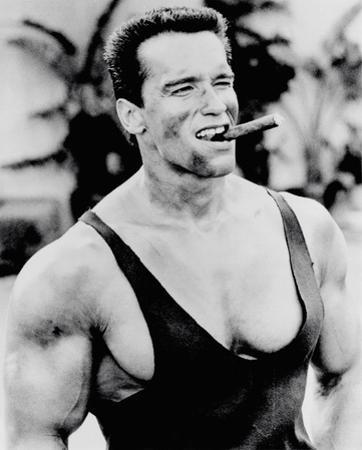Arnold Schwarzenegger - Cigar