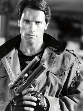 "ARNOLD SCHWARZENEGGER. ""THE TERMINATOR"" [1984], directed by JAMES CAMERON."