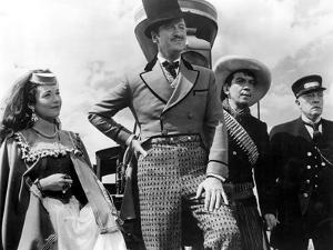 Around The World In Eighty Days, Shirley MacLaine, David Niven, Cantinflas, Buster Keaton, 1956