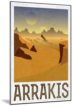 Arrakis Retro Travel