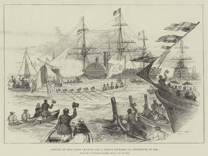 Arrival of King Louis Philippe and a French Squadron at Portsmouth in 1844