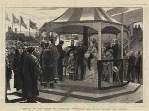 Arrival of the Prince of Wales at Portsmouth, the Mayor Reading the Address
