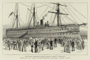 Arrival of the Seventeenth Lancers from India